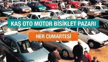 KAŞ OTO PAZARI – KAŞ MOTOR BİSİKLET PAZARI AÇILIYOR